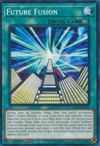 YuGiOh! TCG karta: Future Fusion