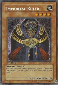 YuGiOh! TCG karta: Immortal Ruler