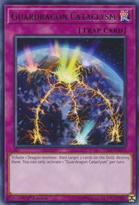 YuGiOh! TCG karta: Guardragon Cataclysm