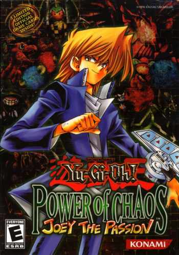 Yu-Gi-Oh! Power of Chaos: Joey the Passion promotional cards