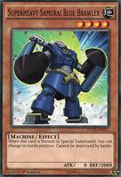 Superheavy Samurai Blue Brawler DUEA