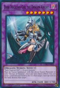 YuGiOh! TCG karta: Dark Magician Girl the Dragon Knight