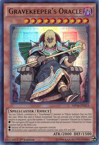 YuGiOh! TCG karta: Gravekeepers Oracle