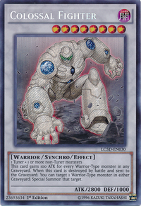 YuGiOh! TCG karta: Colossal Fighter