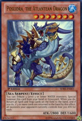 Poseidra the Atlantean Dragon SDRE