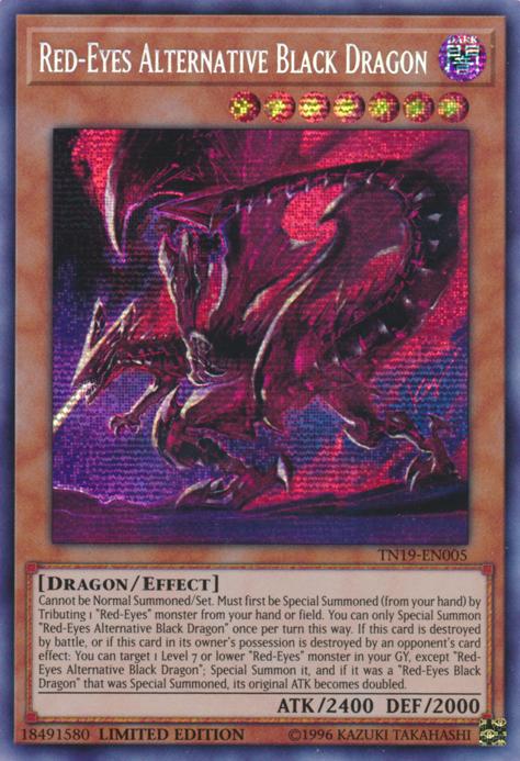 Yugioh-japonais-rouge-yeux Alternative Dragon Noir-Secret 20TH-JPC04