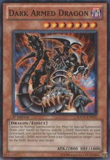 Dark Armed Dragon SDDC