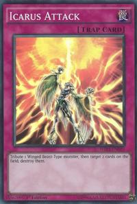 YuGiOh! TCG karta: Icarus Attack