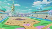 Duel Coaster Stadium