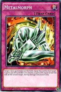 YuGiOh! TCG karta: Metalmorph