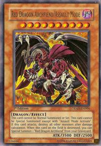 YuGiOh! TCG karta: Red Dragon Archfiend/Assault Mode