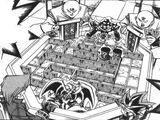 Dark Yugi, Jonouchi and the Meikyû Brothers' Duel (manga)