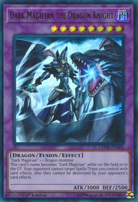YuGiOh! TCG karta: Dark Magician the Dragon Knight