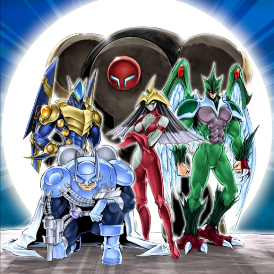 E R and O Yu-Gi-Oh HERO Flash Set E Emergency Call Elemental Hero Mixed H