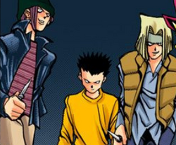 Delinquents - manga