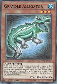 YuGiOh! TCG karta: Graydle Alligator