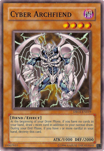 cyber archfiend yugioh fandom powered by wikia