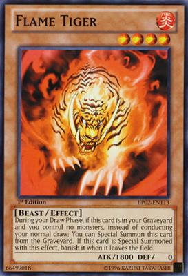 Flame Tiger BP02