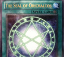 The Seal of Orichalcos (mock-up)