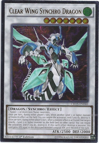 Clear Wing Synchro Dragon CROS
