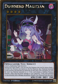 YuGiOh! TCG karta: Downerd Magician