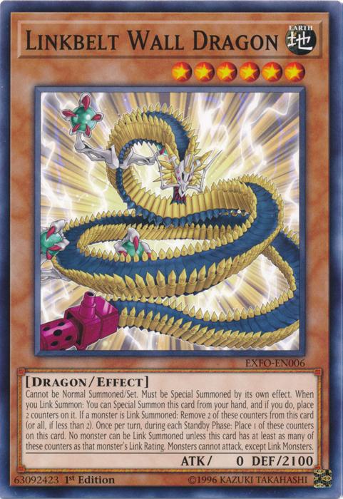 Linkbelt Wall Dragon | Yu-Gi-Oh! | FANDOM powered by Wikia