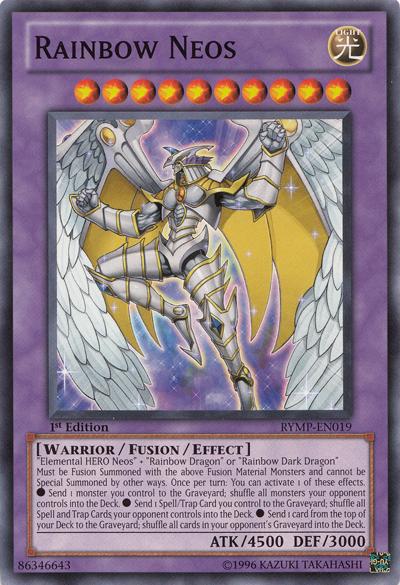 Elemental Hero God Neos Rainbow Neos | Yu-Gi-O...