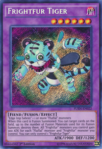 YuGiOh! TCG karta: Frightfur Tiger