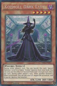 YuGiOh! TCG karta: Kozmoll Dark Lady
