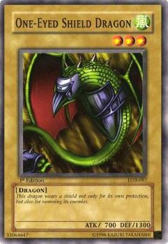 One Eyed Shield Dragon LOB