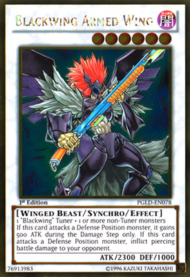 Blackwing Armed Wing PGLD