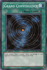 YuGiOh! TCG karta: Grand Convergence