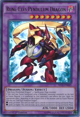 RuneEyes Pendulum Dragon SECE