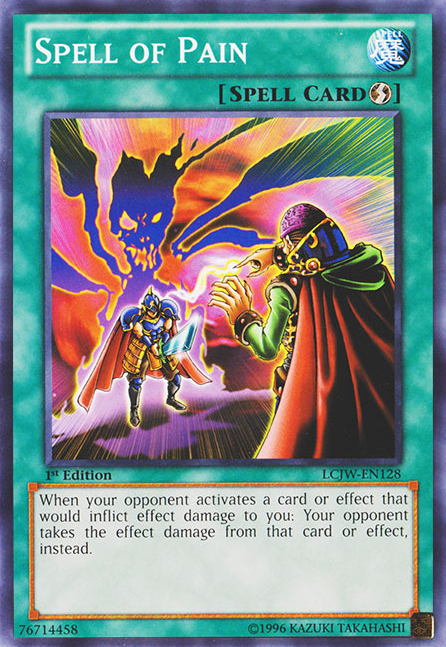Spell Of Pain Yu Gi Oh Fandom Powered By Wikia