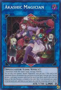 YuGiOh! TCG karta: Akashic Magician