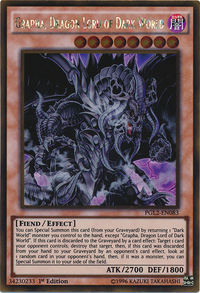 YuGiOh! TCG karta: Grapha, Dragon Lord of Dark World