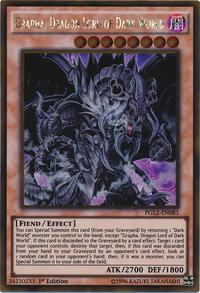 YuGiOh! TCG karta: Grapha, Dragon Lord of Dark World