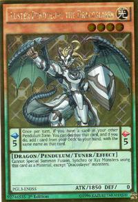 YuGiOh! TCG karta: Luster Pendulum, the Dracoslayer