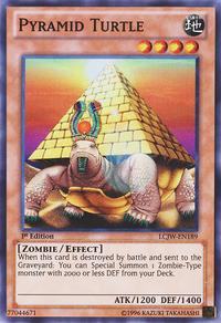 YuGiOh! TCG karta: Pyramid Turtle