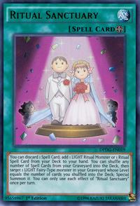 YuGiOh! TCG karta: Ritual Sanctuary