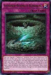 YuGiOh! TCG karta: Subterror Behemoth Burrowing
