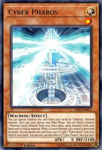 YuGiOh! TCG karta: Cyber Pharos