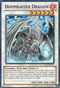 YuGiOh! TCG karta: Doomkaiser Dragon