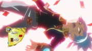 Sora defeated by Z-ARC