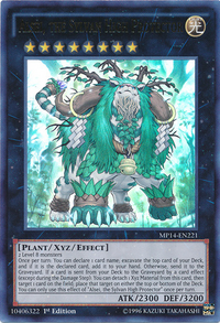 YuGiOh! TCG karta: Alsei, the Sylvan High Protector