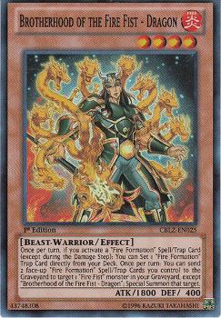 Fire Fist Dragon CBLZ