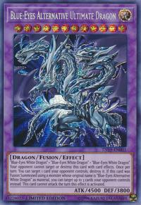 YuGiOh! TCG karta: Blue-Eyes Alternative Ultimate Dragon