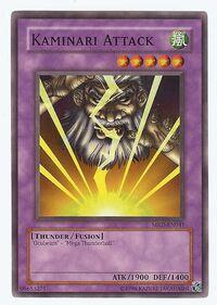 YuGiOh! TCG karta: Kaminari Attack