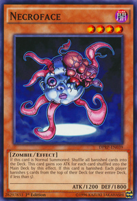 YuGiOh! TCG karta: Necroface