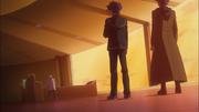 Yusaku and Koulter confront Ryoken